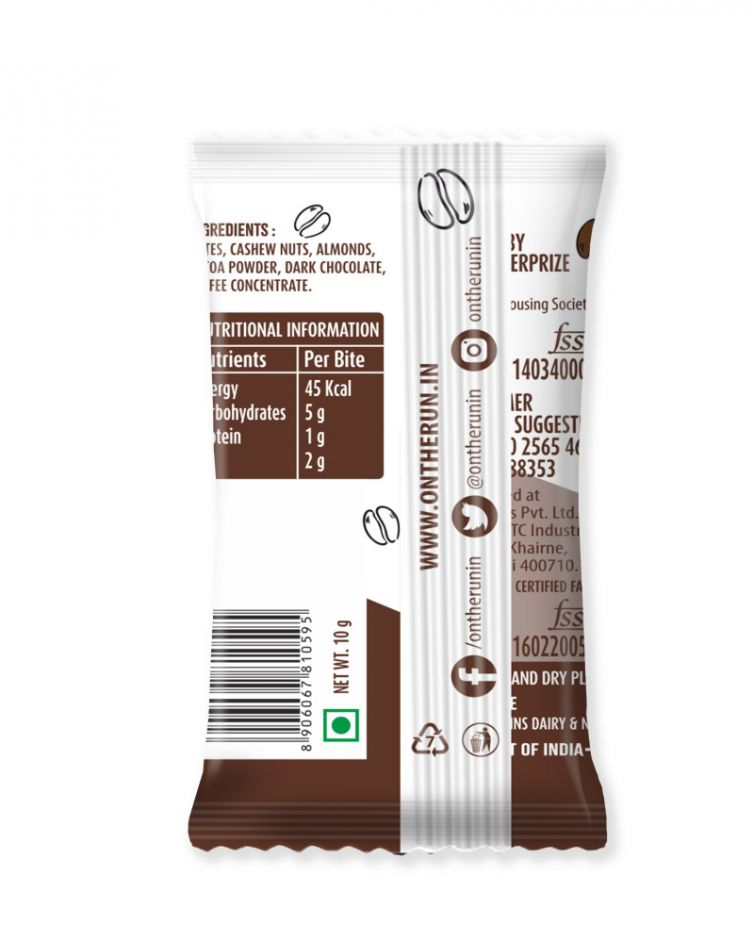 Coffee Bites Pack of 25