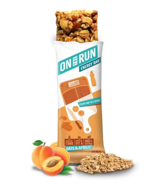 ontherun - oats apricot bar 2