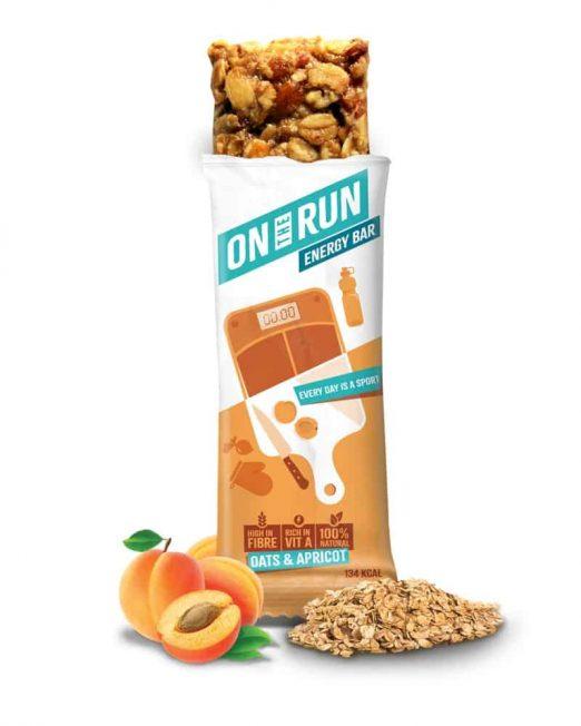 ontherun - oats apricot bar 2