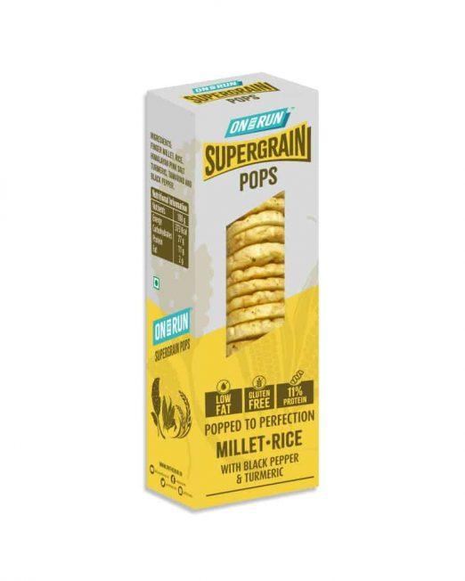 ontherun - pops millet rice