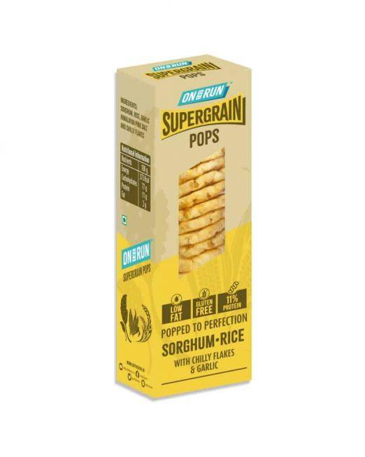 ontherun - pops sorghum rice