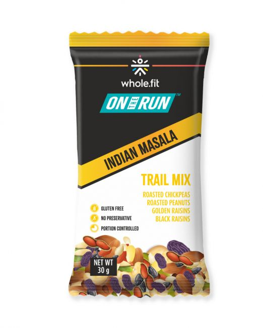 ontherun - trail mix indian masala
