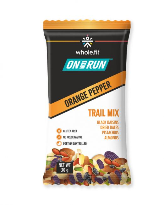 ontherun - trail mix orange pepper