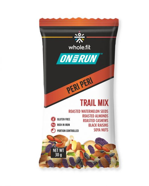 ontherun - trail mix peri peri