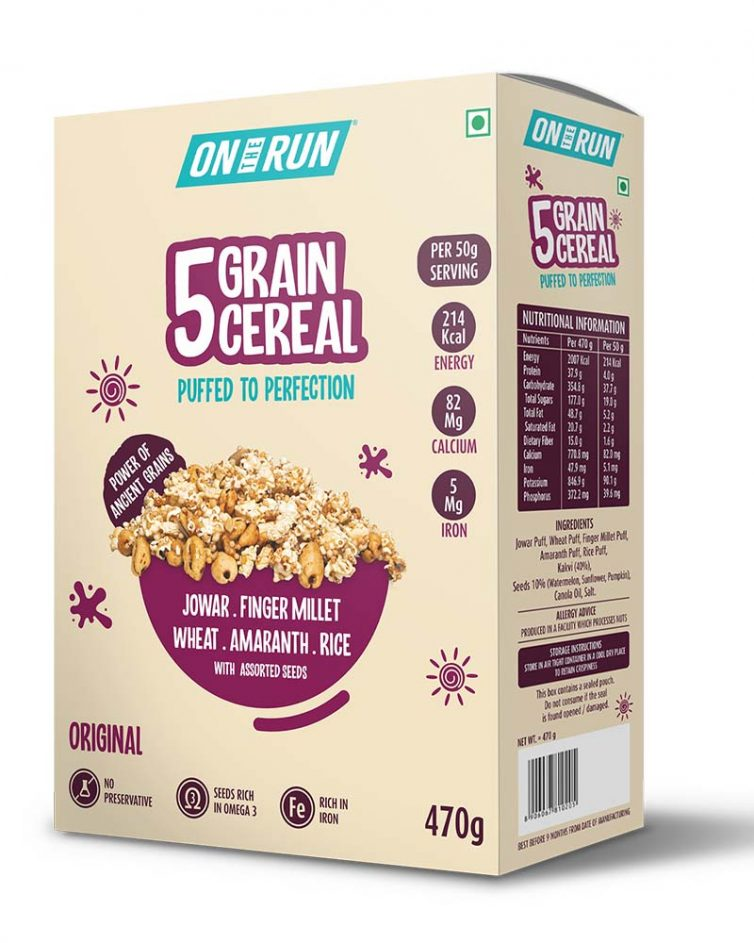 5 Grain Cereal Large
