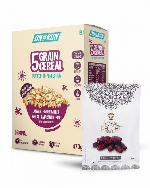 5 Grain Cereal & Dates Combo